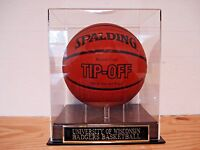 Basketball Display Case For Your Wisconsin Badgers Team Signed Basketball