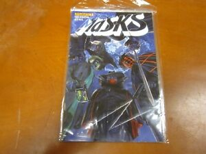 034-Masks-034-complete-8-issue-mini-series-Shadow-Spider-Green-Hornet-Zorro-more