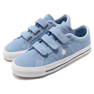 4f03009f278e Converse One Star Pro 3V Blue White Men Women Strap Skate Boarding ...