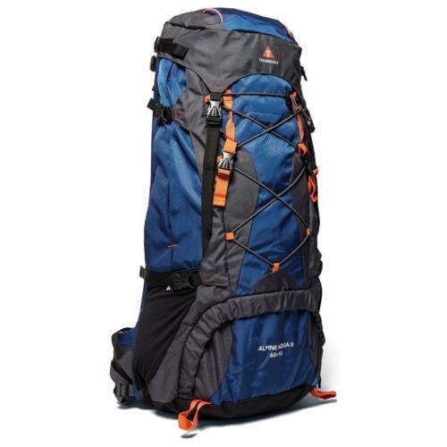 Neuf TECHNICALS Sac de voyage à dos alpin Aqua Ii 60  10 litres Bleu