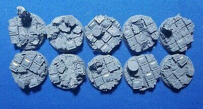 Warhammer 40k Elrik's Hobbies Terrain Celtic Ruins 32mm Bases Sé Astuto En Asuntos De Dinero