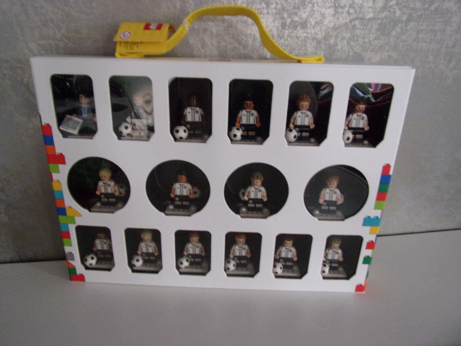 LEGO minifigurenkoffer  Série 71014 complet (16 MINI FIGURINES FOOTBALL) - Neuf