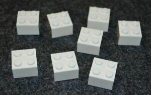 LEGO 3001 Standard Brick White 2x4 BRICKS 2 x 4 Blocks 10 Pcs