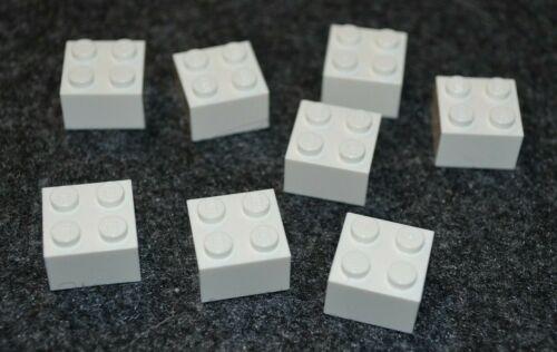 WHITE 2x2 Standard Brick Bricks  ~ Lego  ~ NE 8