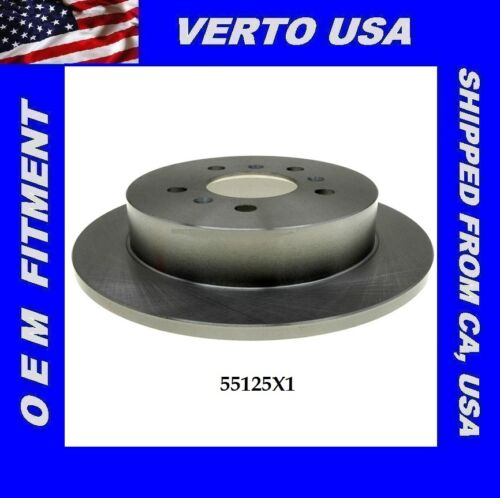 Verto USA Brake Disc Rotor Chevrolet  55125X1 Rear  fit Buick