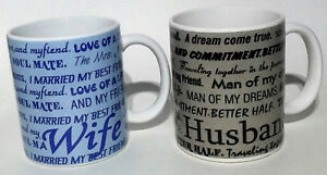 Husband And Wife Coffee Mugs 12 Floz Quotes Love Best Friend Life