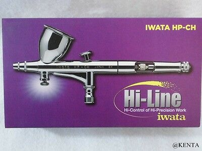 New Anest Iwata Airbrush Hi-Line Series HP-CH From Japan F//S