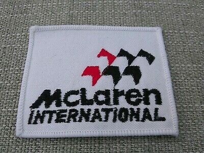 Badges & Mascots Vintage Mclaren International Cloth Patch F1 Motor Racing Team New Old Stock By Scientific Process