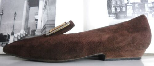 Braun Magli True Pumps Made Vintage Brown Italy Ballerinas Slipper Damen Bruno zxdHwAq66