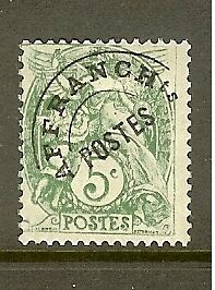 FRANCE-STAMP-TIMBRE-PREOBLITERE-N-41a-034-TYPE-BLANC-5c-SURCHARGE-A-PLAT-034-NEUF-xx-TB