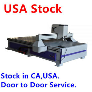 Details About Usa Stock 51 X 98 1325 Ad And Woodworking Cnc Router Machine With 3kw Spindle