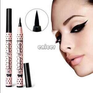 ♥♥ Delineador De Ojos Líquido Impermeable Lápiz Maquillaje Cosméticos Eyeliner