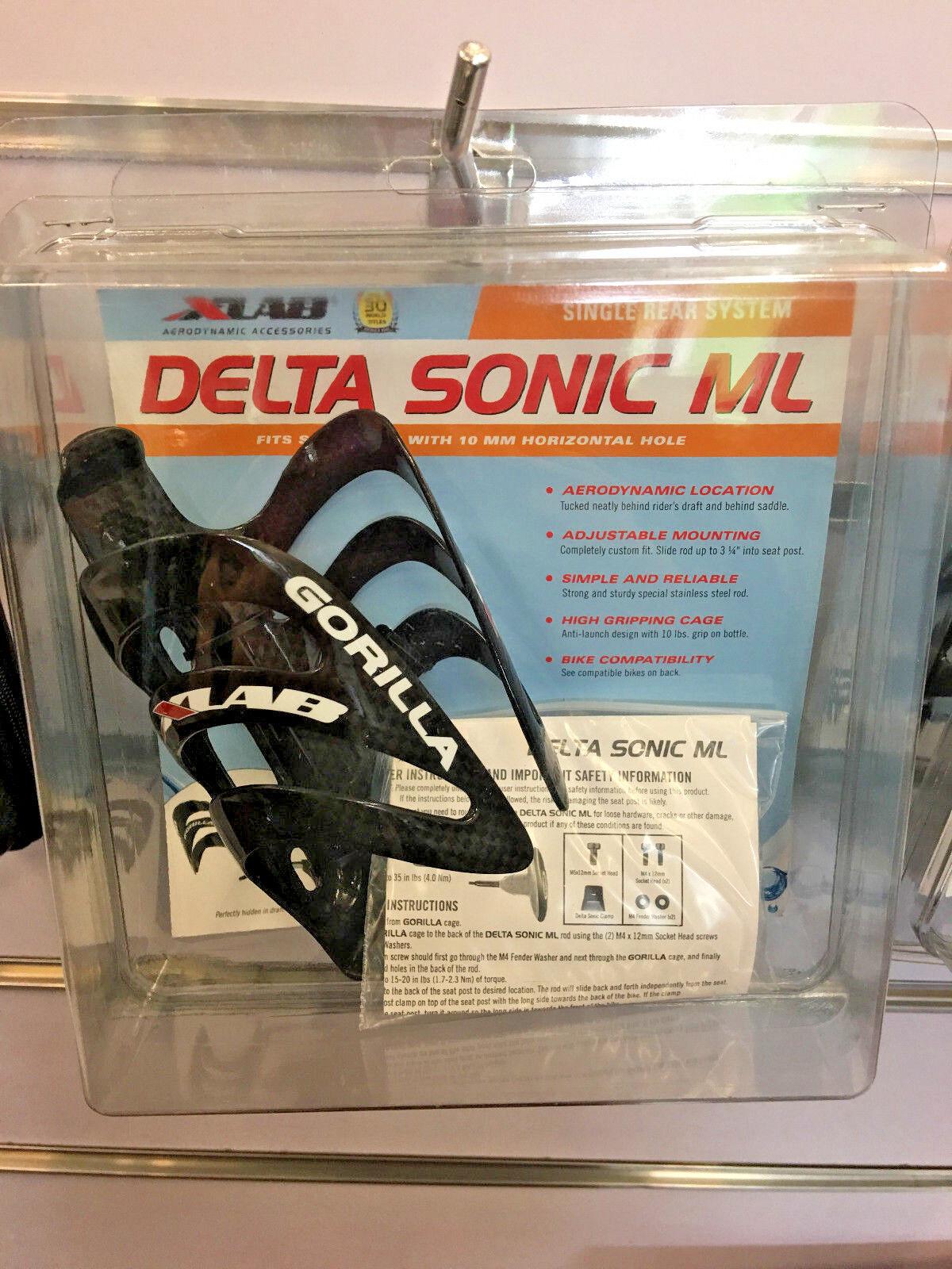 Xlab único sistema trasero Delta Sonix Ml (Negro)