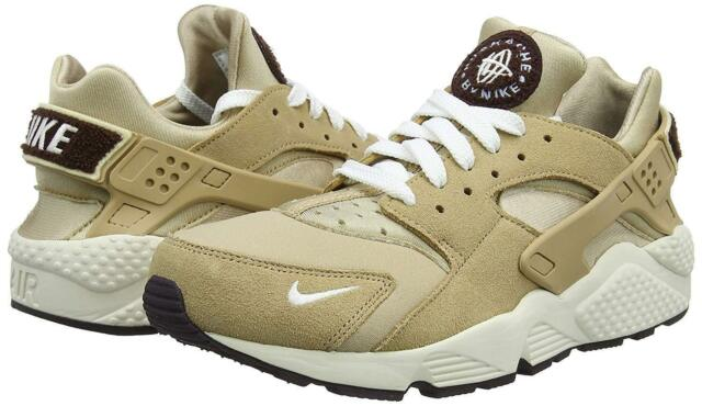 38ecfc3ea438 Nike Air Huarache Run Premium Mens 704830-202 Desert Sail Running Shoes  Size 9.5