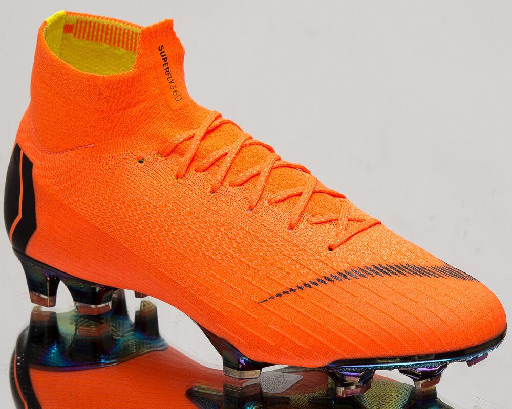 Nike Mercurial Superfly 360 Elite FG homme Soccer Cleats Total Orange AH7365-810