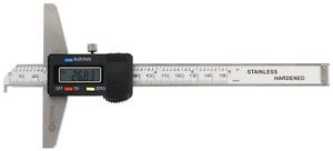 METEHA Digitaler Tiefenmessschieber 150 mm mit Haken