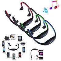 Bluetooth Wireless Headset Sport Stereo Headphone Earphone Handfree for iPhone 6