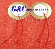 wire copper M19 20PCS 27mm Piezo Elements Sounder Sensor Trigger Drum Disc