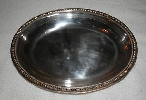 Oval silver partial hallmark serving tureen canape for Canape serving dishes