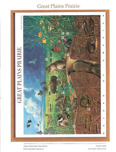 626-Great-Plains-Prairie-3506-USPS-Commemorative-Stamp-Panel