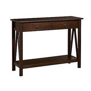 Linon Home Decor Titian Antique Console Table Free2dayship Taxfree