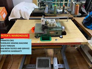 INDUSTRIAL OVERLOCK SEWING MACHINE YAMATO 3/4/5 THREAD