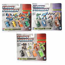 Vintage G1 Transformers 1989 Micromaster HOTROD TRUCK MILITARY PATROL Lot of 3