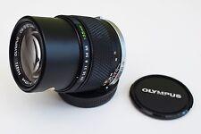 Olympus 135mm f/3.5 Auto-T telephoto portrait lens with original case E Zuiko