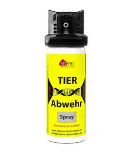 HelpMe Tierabwehr-Pfefferspray 50ml - Stinkstoff & Pfeffer einzigartige Schärfe