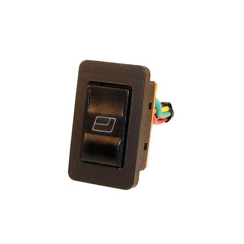 12V LED Illuminated Universal Electric Window Aerial Switch 20A