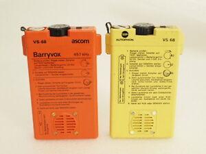 Barryvox-VS68-VS-68-LVS-Lawinenverschuettetensuchgeraet-Suchgeraet-Ascom-Autophon