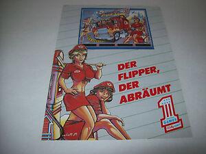 BALLY-TRUCK-STOP-PINBALL-MACHINE-RARE-GERMAN-TRADE-AD-FROM-COIN-OP-MAGAZINE-1989