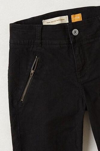Taille Nouveau En Diamants Pilcro Pantalon Moto Surpiqué 14 Rouge W De wqxpz0S