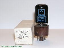 USED MB CHELMER / BRIMAR CV1988 6SN7GTY Black Glass Military tube,Original box