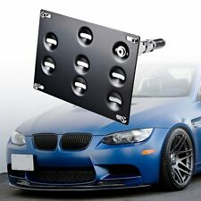 Front Bumper Tow Hooks License Plate Mounting Bracket Holder For BMW 1 3 5 X5 X6