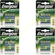 16 X Energizer Aaa 700 Mah Power Plus Recargable baterías ACCU 700