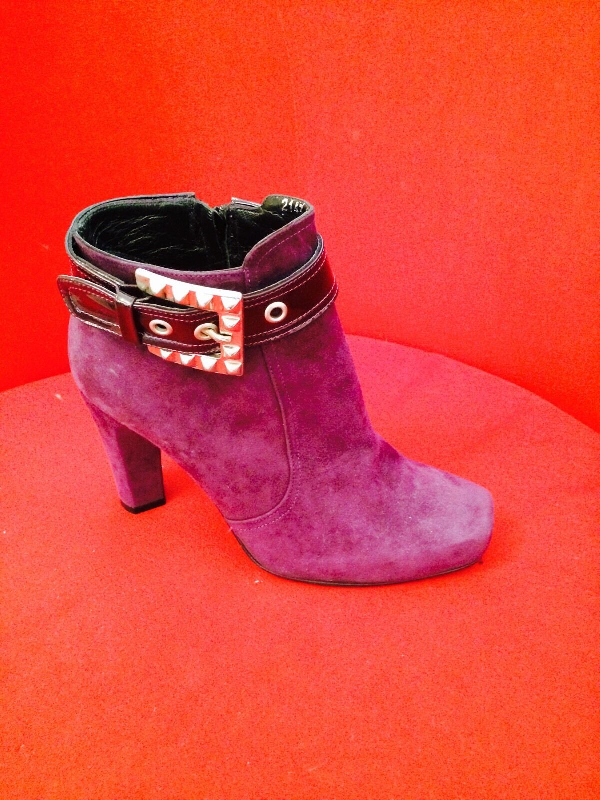 New Italian Fashion Bootie 38 8 Imported From From From ., high Fashion  952813