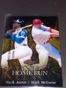 1999-Topps-Finest-Home-Run-Kings-Hank-Aaron-Mark-McGwire-Insert-with-coating