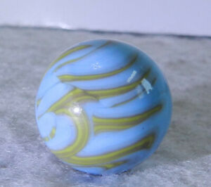 #11192m Vintage Christensen Agate Company Flame Marble *Near Mint*