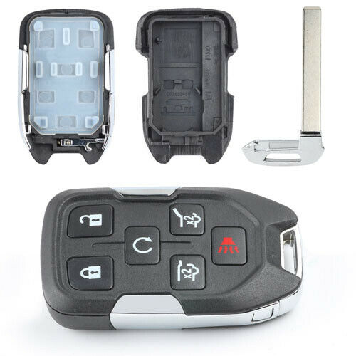 6Button Smart Remote Key Shell Case Fob for Chevrolet Suburban Tahoe GMC HYQ1AA