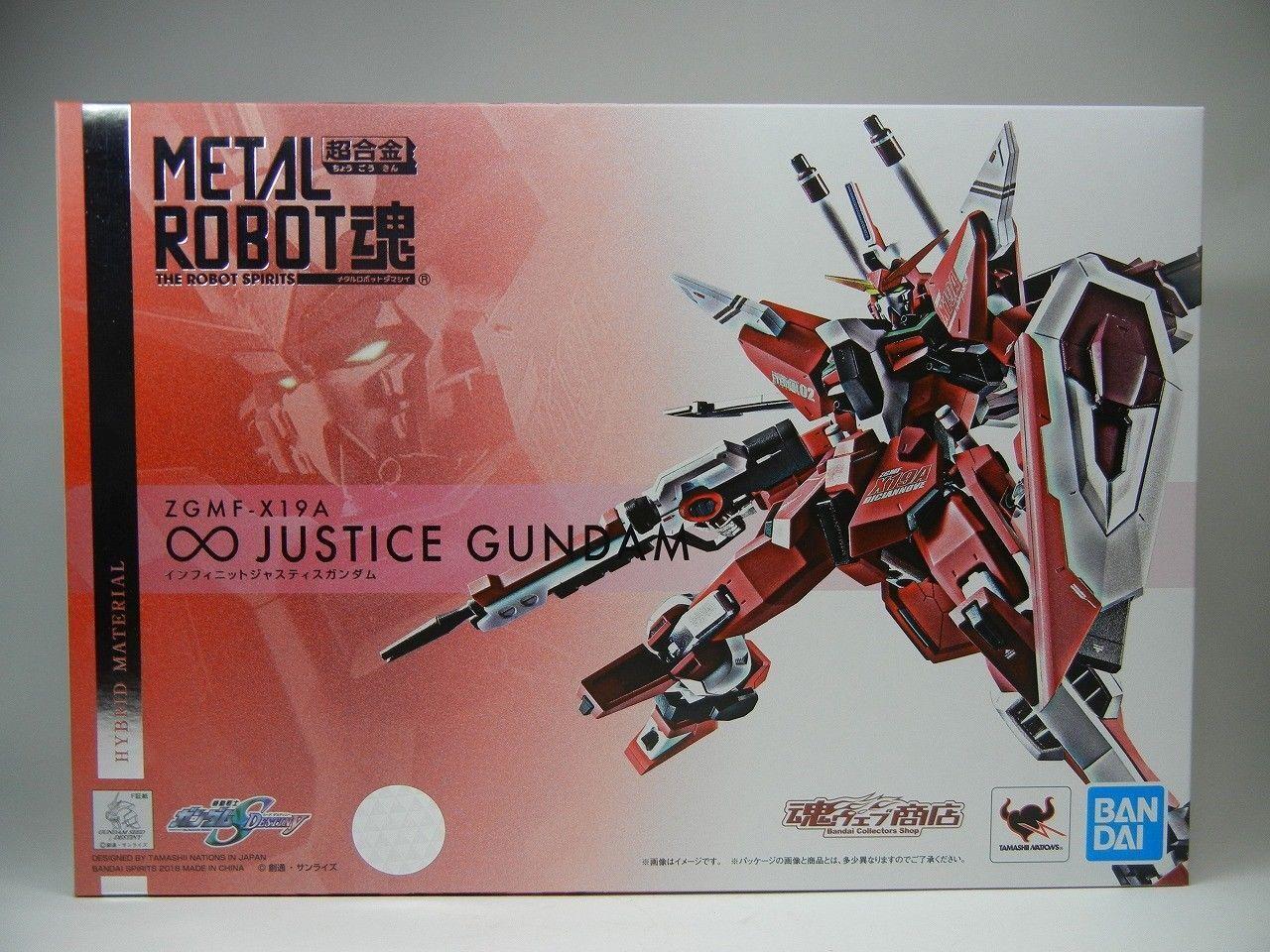 METAAL ROBOT GEEFT Infinite Justice Gundam Seed Destiny Premium Chogokin