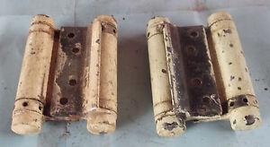 Ancienne-paire-de-charniere-de-bar-va-et-viens-vintage-a-restaurer-vers-1950