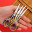 Stainless Steel Vintage Scissors Sewing Fabric Cutter Embroidery Scissors Tailor