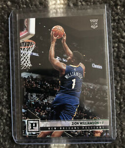 2019-20-Panini-Chronicles-GREEN-Parallel-Zion-Williamson-Rookie-RC-120-Pelicans