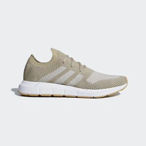 32e21245a9c Details about Adidas Original Men's Swift Run PK Shoes NEW AUTHENTIC Raw  Gold/Off White CQ2890