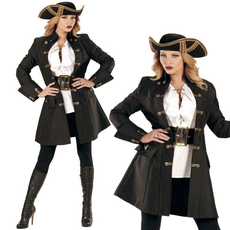 Damen Kostüm Edler Piratin Mantel Gr. L 42 44 - Edelfrau Mittelalter Rokoko 716 | Sonderkauf  | Reparieren  | Moderner Modus