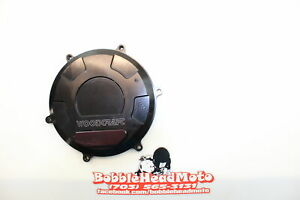 2015 Ducati 1199 Panigale Woodcraft Clutch Side Engine Motor Cover B6