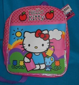 Sanrio-Hello-Kitty-12-Inch-Backpack-School-Travel-Bag-New
