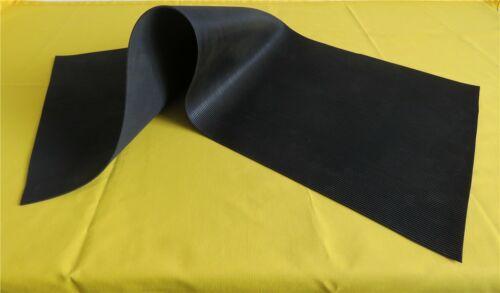 Gummimatte Werkzeugmatte Kabelmatte Feinriefenmatte Antirutschmatte 3 mm