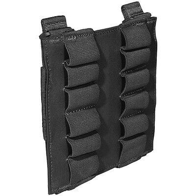 5.11 TACTICAL 12 RD SHOTGUN SHELLS AMMO MAG POUCH HUNTING SHOOTING MOLLE BLACK